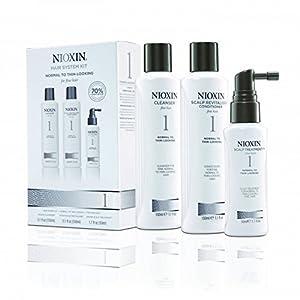 Nioxin THS 1 Champú + Acondicionador + Mascarilla para Cabello Fino - 1 Pack