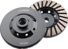 DAMO's cup wheels are designed for profiling edges, smoothing out inside sinkhole cuts, smoothing rough surfaces, preparation of material for lamination and heavy stock removal. They are the premium choice for any grinding, shaping or ...