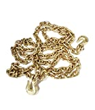 Laclede Chain 3524-620-35 3/8'' Grade 70 Transport Chain by 20' Clevis Grab Hook