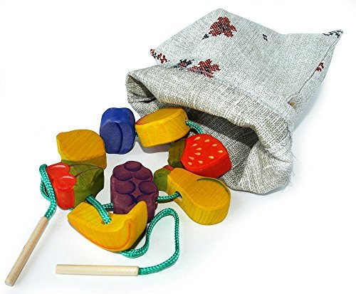 montessori-handcrafted-fruit-shaped-lacing-beads-with-cotton-sack