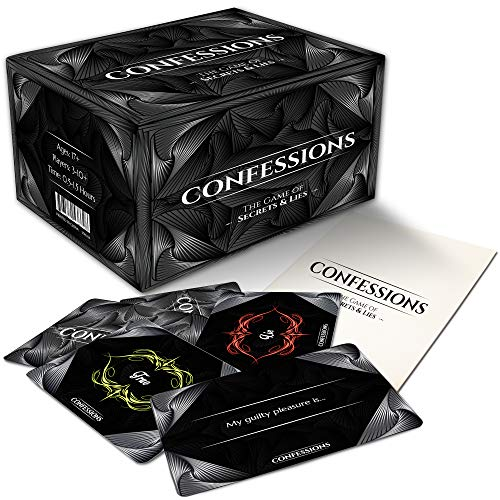 Confessions: The Game of Secrets & Lies. Probably The Most Awkward Party Card Game You Will Ever Play