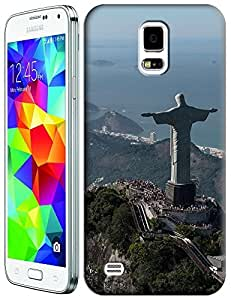 Sangu Christ The Redeemer Statue TPU Case / Cover for Samsung Galaxy S5 - Style5
