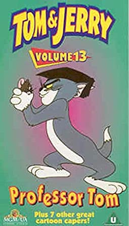 Tom and jerry professor tom