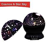 MKQPOWER Nachtlicht Projektor, beleuchten Ihr Schlafzimmer mit diesem Mond, Stern,...