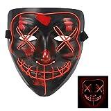 Halloween LED Glow Mask Purge Movie Costume Props