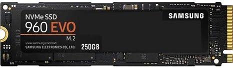 Samsung 960 EVO NVMe M.2 - Disco duro sólido de 250 GB (Samsung V ...