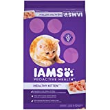 Iams PROACTIVE HEALTH Kitten Dry Cat Food (1) 16 Pound Bag, Real Chicken in Every Bite