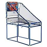 HOMCOM Kids Arcade Basketball Hoop Game Single Basketball Shootout Indoor Shot System w/ Ball and Pump