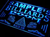 pj-tm Name Personalized Custom Billiards Pool Bar Room Neon Sign