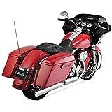 "Vance & Hines Twin Slash 2-into-1 Round Slip-On Exhaust 4"" Fits 2010 Harley FLTRX Road Glide Custom"