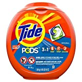 Tide PODS 3 in 1 HE Turbo Laundry Detergent Pacs, Original Scent, 81 Count Tub, Packaging May Vary (162 Count)