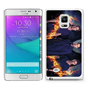 High Quality Samsung Galaxy Note Edge Skin Case ,Supernatural White Samsung Galaxy Note Edge Screen Cover Case Popular And Unique Custom Designed Phone Case