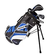 Tour X Size 0 3pc Jr Golf Set w/Stand Bag