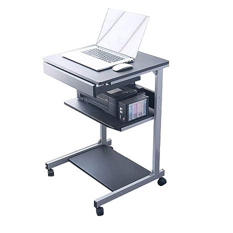 YNN Table Escritorio/Mesa para computadora, 3 Niveles de ...