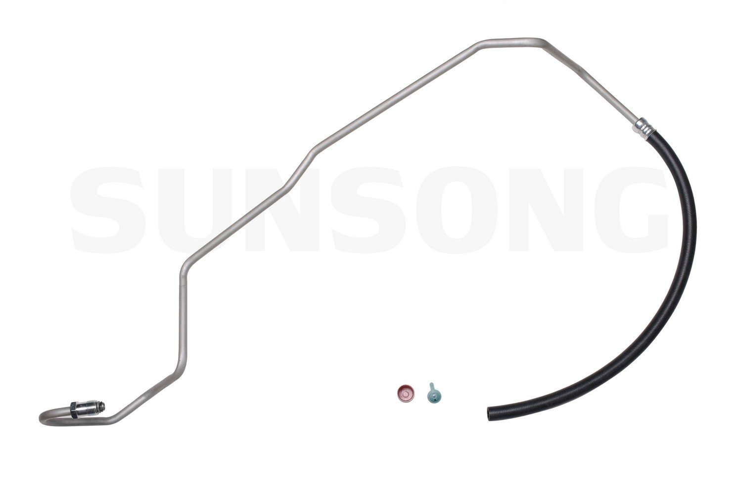 Sunsong 3401090 Power Steering Return Line Hose Assembly