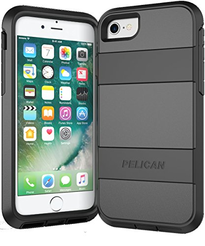 Pelican C23030-000A-BKBK Voyager iPhone 7 Case (Black)