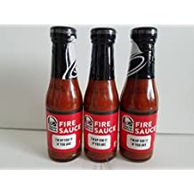 Taco Bell Sauce,fire, 7.5 Ounce Bottle (Pack of 3) by Taco Bell