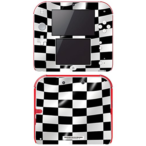Protector Case Checkers (Decal Skin Vinyl Game Cover for Nintendo 2DS - Checkers)