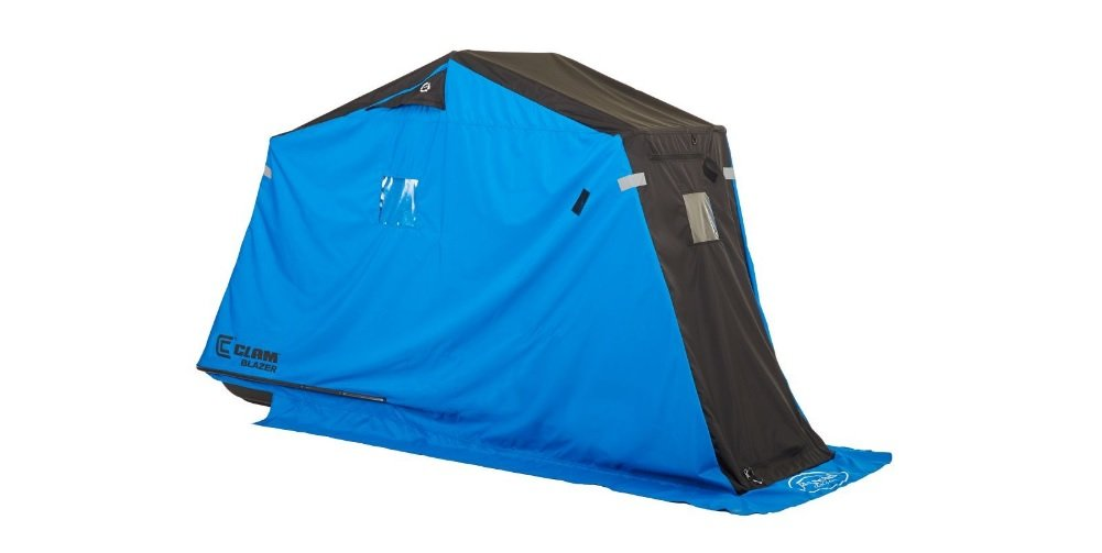 Clam Outdoors 10129 Blazer - Lightweight 1 Man Ice Fishing Shelter by Clam Outdoors