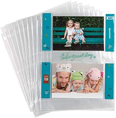 Samsill Archival Sleeves Postcard Protectors
