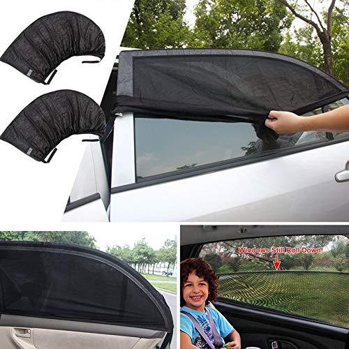 Wenwenzui-IT Protettivo UV per Tende da Sole Tendina Parasole per Tende Auto in Tessuto Polyeaster