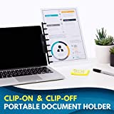 NoteTower Monitor Mount Black - Document Holder