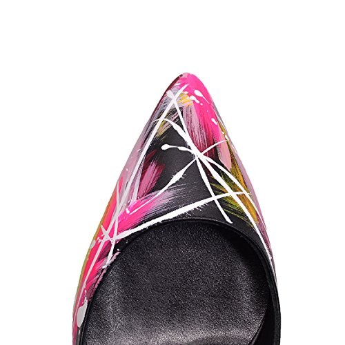 Color Janiko R0075 Heels Damen Instinct High Black q114rt