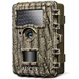 AUCEE Trail Camera, 14MP 1080P HD Game Camera Wildlife Camera Night Vision Motion