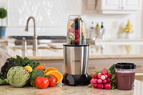 Living Well With Montel MWPBLND01 Personal Blender