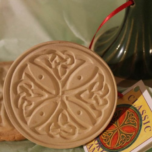 Brown Bag Celtic Cross Cookie Stamp - British Isle Series