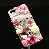 Luxury 3D Bling iPhone 5 Hard Case Cover Protective Skin with Rhinestone Crystals with Diamond Spark