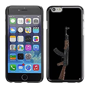 Graphic4You AK47's AK-47's Machine Gun Assault Rifle Design Hard Case Cover for Apple iPhone 6