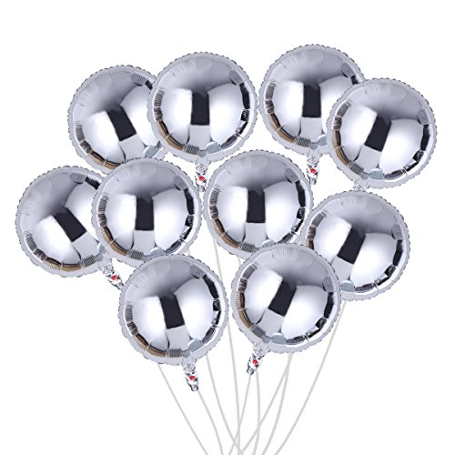 NUOLUX Foil Balloon,18 inch Mylar Balloons for Party -