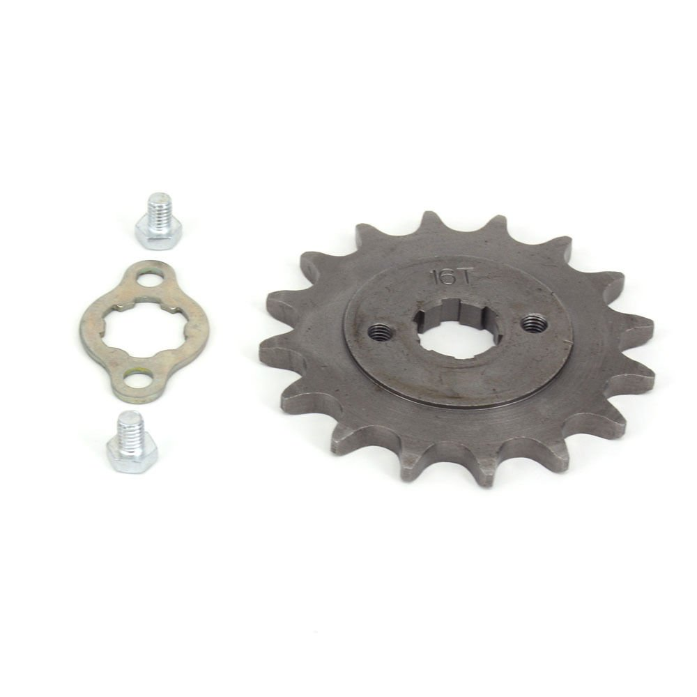 520 Chain 16T Front Sprocket 20mm For China Pit Bike Lifan Loncin Motorcycle ATV