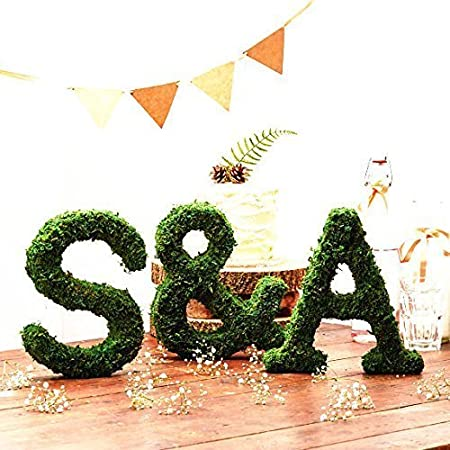 Dark Green 12 x 71 Byher Dried Moss Table Runner for Party Garden Decoration 30cm X 180cm