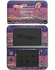 DeinDesign Skin kompatibel mit Nintendo New 3DS XL Aufkleber Sticker Folie Einhorn Unicorn Phrases