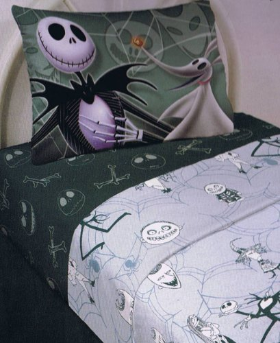 the nightmare before christmas sheet set - Nightmare Before Christmas Bedroom Decor