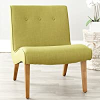 Safavieh Mercer Collection Owen Mid-Century Modern Green Lounge Chair