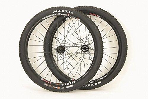 WTB 29 inch Boost SRAM XD ONLY Disc Brake Frequency i23 Race TCS Wheel Set Thru Axle Tubeless Maxxis Ikon 29 x 2.20 Tires & Tubes!