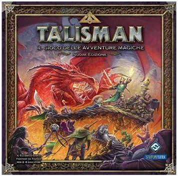 Giochi Uniti Talisman - Juego de Mesa (versión en Italiano): Amazon.es: Juguetes y juegos