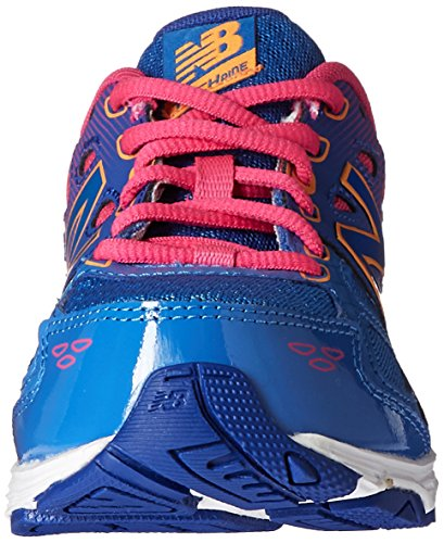 New Balance KR680 Youth Running Shoe (Little Kid/Big Kid) Blue/Pink