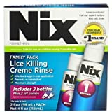 Nix Lice Treatment Family Pack 4 oz (Pack of 12)