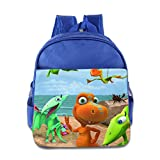 Toddler Kids Dinosaur Train School Backpack Cartoon Children School Bag