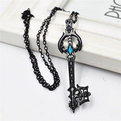 Indiana Jones Props For Sale (Anime Kingdom Hearts Oblivion Keyblade Black Metal Pendant Necklace Cosplay)
