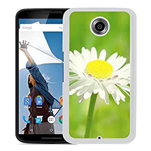 Sunny Daisy Flower Macro (2) Durable High Quality Google Nexus 6 Case
