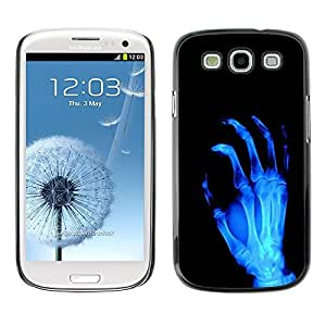 GagaDesign Phone Accessories: Hard Case Cover for Samsung Galaxy S3 - X-Ray Skeleton Arm