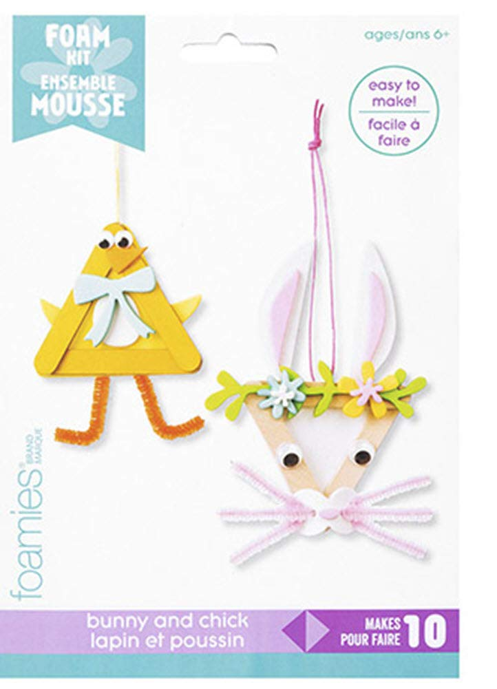 FOAMIES Bunny /& Chick Popsicle Kit Makes 10 Fomies