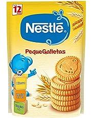 Nestlé Junior Alimento elaborado a base de cereales, galletas - 180 gr