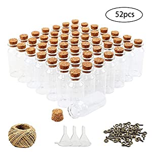 51zDuOE8DqL._SS300_ Large & Small Glass Bottles With Cork Toppers