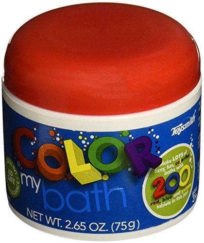 Bath Tablets (Toysmith Color My Bath Tablets 200 Pack)